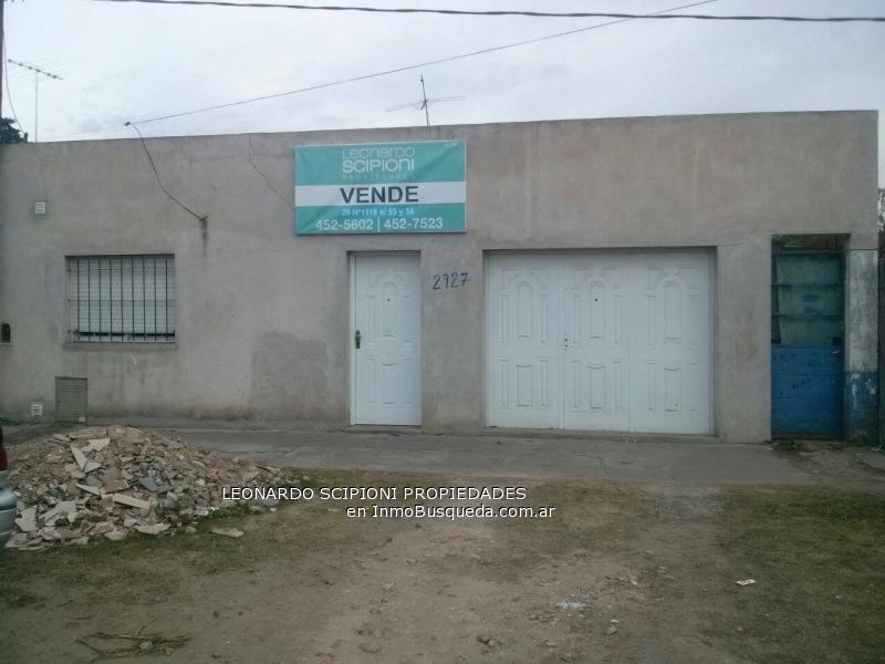 Casa En Venta En Los Hornos Sobre Calle 66 Buenos Aires